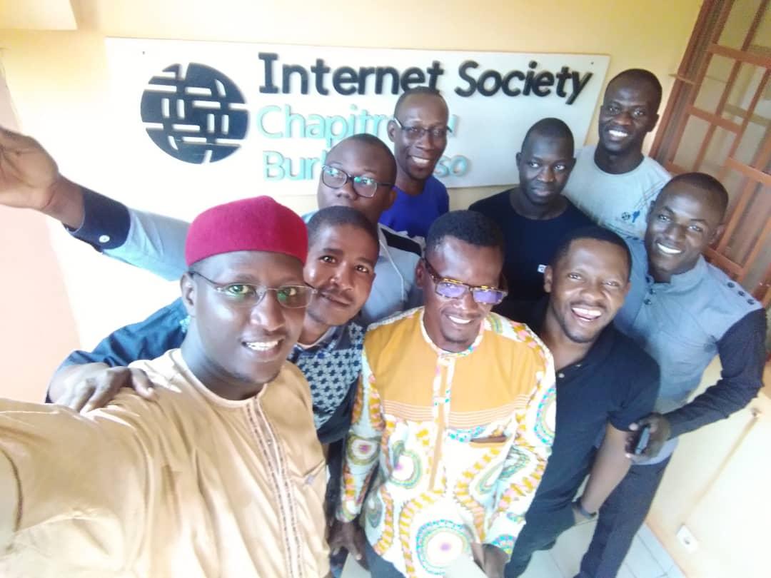 Inauguration du siége d'ISOC